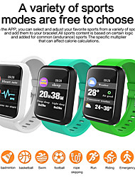 cheap -SM01 Smart Bracelet Fitness Activity Tracker Waterproof Smart Band Blood Pressure Measurement Wristband Watch