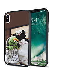cheap -Case For Apple iPhone XS / iPhone XR / iPhone XS Max Pattern Back Cover Cartoon Hard Acrylic