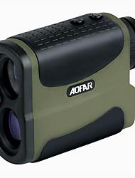 cheap -AF-700L Waterproof Rangefinder Hunting Monocular Golf Rangefinders Portable Measuring Distance Monocular golf speed 700m finder for 6x25 laser telescope Digital laser distance Meter range fog