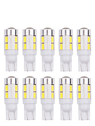 cheap -10pcs T10 5630 10SMD w5w LED 194 168 W5W Car Side Wedge Tail reading Light Lamp car indicate auto bulb 12v