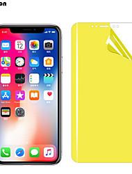 Недорогие -защитная пленка из нано-мягкого гидрогеля с покрытием для передней и задней панели для iphone 7 8 6 6s plus x xs max xr защитная пленка