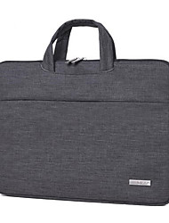 cheap -Oxford Cloth Polyester Zipper Laptop Bag Solid Color Daily Dark Grey / Light Grey / Fall & Winter