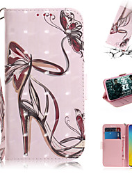 cheap -Case For Samsung Galaxy S7 edge / S7 / Galaxy S10 Wallet / Card Holder / with Stand Full Body Cases Sexy Lady PU Leather