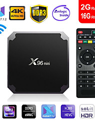 cheap -Android 7.1 TV Box Factory OEM X96 mini 4K New Design 4K Amlogic S905X 2GB 16GB