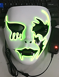 cheap -LED Mask Halloween Mask Inspired by White Adults' Men's