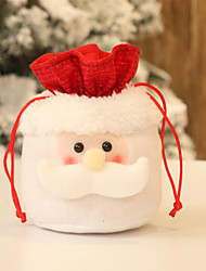 cheap -Christmas Candy Drawstring Bag Containers for Home Party Decoration Ornament Accessories Gift