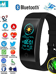 cheap -KF18 Smart Bracelet Heart Rate Monitor Blood Pressure Smart Band Health Fitness Tracker Smart Wristband for Android iOS