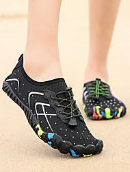 cheap -Women's Flats Flat Heel Round Toe Mesh Sporty / Minimalism Water Shoes / Upstream Shoes Spring & Summer / Fall & Winter Black / Black / Silver / Black / Yellow