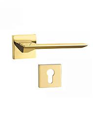 cheap -A6-236-PVD Door Levers Mechanical key Zinc Alloy