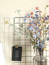 Недорогие -моделирование цветок гибискуса производители листьев украшение дома свадьба проведение цветы дорога свинца цветок стена завод стена искусственный цветок 1 ветка