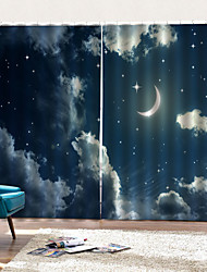 cheap -Europea Starry Sky Color Art Simple Design Rings Window Curtain Home Decor Mouldproof Moistureproof Shower Curtain