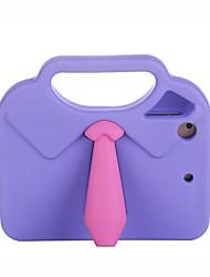 cheap -Case For Apple iPad Mini 3/2/1 / iPad Mini 4 Shockproof / Child Safe Back Cover Solid Colored / 3D Cartoon EVA