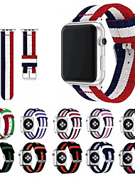 cheap -Smart Watch Band for Apple iWatch 1 pcs Sport Band Classic Buckle Nylon Replacement  Wrist Strap for Apple Watch Series SE / 6/5/4/3/2/1 38mm 40mm 42mm 44mm