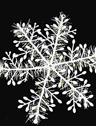 cheap -3/15pcs CYNDIE Hot Sale Snowflake Snow Flake Xmas Christmas Tree Party Ornaments Decoration