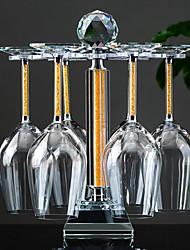 cheap -2pcs Crystal Wine Rack Wine Racks Classic Wine Accessories for Barware