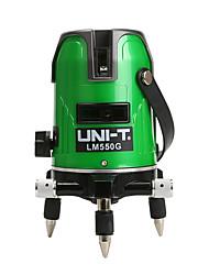 Недорогие -лазерный уровень uni-t lm520g 2 линии 3 линии 5 линий 360 градусов самовыравнивающийся перекрестный лазерный уровень зеленые линии лазерный уровень