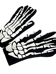 cheap -Horror Ghost Claw Gloves 3D Skeleton Foam Gloves for Cosplay Show Costume Party Halloween Masquerade Party
