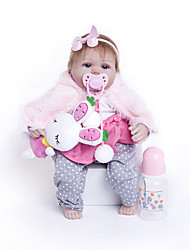 cheap -Reborn Doll Baby Girl 18 inch Kids / Teen Kid's Unisex Toy Gift