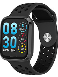 cheap -F98 Men Smartwatch Android iOS Bluetooth Waterproof Touch Screen Heart Rate Monitor Blood Pressure Measurement Sports Stopwatch Pedometer Call Reminder Activity Tracker Sleep Tracker