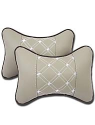 Недорогие -2 шт. Дышащий мягкий удобный автокресло шеи отдыха подушка подушки подушки