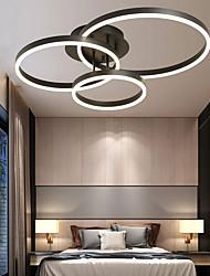 cheap -70cm LED Ceiling Light Ring Circle Design Nordic Style Modern Flush Mount Lights Metal Acrylic Painted Finishes LED 110-120V 220-240V