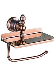 Недорогие -Держатель для туалетной бумаги Креатив / Многофункциональный Modern Латунь 1шт На стену