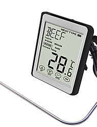 cheap -Thermometer Single Portable Ultra Light (UL) Durable Easy to Install 304 stainless steel ABS for 1 person Outdoor Camping / Hiking Traveling Picnic Black / White