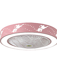 cheap -1-Light 58 cm LED / Tri-color Ceiling Fan Metal Painted Finishes LED 110-120V / 220-240V / FCC