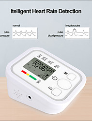 cheap -Home use Health Care Digital Upper Fully Automatic Electronics Arm Style Blood Pressure Monitor Pulse Rate B02R