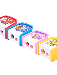 cheap -Pencil Sharpener Cutter Knife Stationery Student Double Control Cartoon Pencil Sharpener