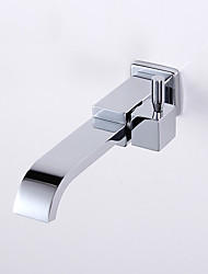 cheap -Bathroom Sink Faucet - Waterfall Chrome Wall Mounted Single Handle One HoleBath Taps