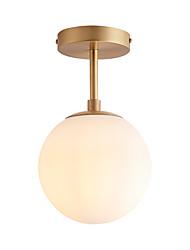 cheap -1-Light Flush Mount Lights Ambient Light Electroplated Metal New Design 110-120V / 220-240V Warm White