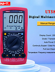 cheap -UNI-T UT58C Digital Multimeters AC/DC Voltmeter Ammeter Temperature Capacitance Frequency Tester Mulimetro