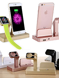 cheap -Dock Charger Watch Phone Charging Stand ABS