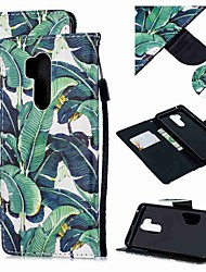 cheap -Case For LG LG Q Stylus / LG StyLo 3 / LG Stylo 4 Wallet / Card Holder / Shockproof Full Body Cases Tree PU Leather