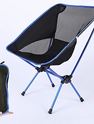 cheap -Camping Chair Portable Ultra Light (UL) Foldable Folding Oxford Cloth Mesh Aluminium alloy for 1 person Fishing Camping Autumn / Fall Winter Upgrade orange Upgrade red Upgrade navy upgrade Blue