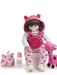 cheap -Reborn Doll Baby Girl 20 inch Kids / Teen Kid's Girls' Toy Gift