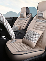 cheap -Car cushion new Four Seasons general car hemp fabric seat set summer car sitting cover full encirclement special seat cushion cover/general motors seat cover/