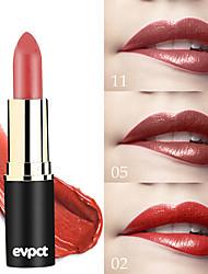 abordables -marque evpct 12 couleur nouvelle sexy longue tenue mat rouge à lèvres imperméable à l'eau