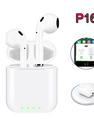 cheap -New Pop-up P16 TWS Bluetooth 5.0 Wireless Headphones 4D Sound Stereo Earphones Wireless Charging Earbuds For Smart Phone