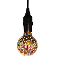 cheap -1pc 6 W LED Filament Bulbs 400 lm E26 / E27 G80 25 LED Beads SMD Party Decorative Christmas Wedding Decoration Warm White 85-265 V