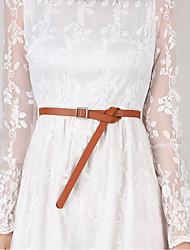 cheap -Women's Work / Basic Waist Belt - Solid Colored