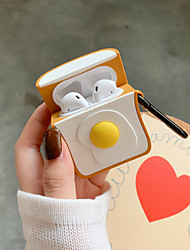 cheap -AirPods Case Pattern / Water / Dirt / Shock Proof / Shockproof Shockproof Protective Cartoon Cover Portable For AirPods1 AirPods2 (AirPods Charging Case not included)