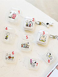 cheap -Headphone Carry Bag Cute Apple Airpods Scratch-proof Silicon Rubber