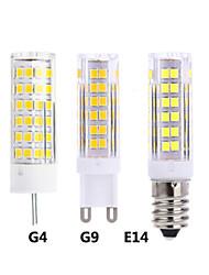 cheap -5pcs 7 W LED Bi-pin Lights 300 lm E14 G9 G4 T 75 LED Beads SMD 2835 Warm White White 220-240 V 12 V