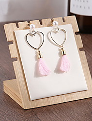 cheap -Storage Organization Jewelry Collection Wooden Square Novelty