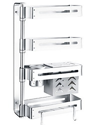 cheap -1pc Cabinet Accessories Stainless Steel Creative Multifunction