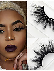 abordables -Cil Faux Cils 120 pcs Dense / Naturel / Extra Longue Cil Classique Quotidien Maquillage Cosmétique