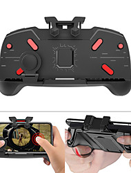 cheap -Gaming Joystick Gamepad Mobile Phone Game Trigger Fire Button L1R1 Shooter Controller AK21 for PUBG Game Handle Holder Bracket