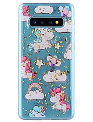 cheap -Case For Samsung Galaxy Note 9 / Note 8 Shockproof / Transparent / Pattern Back Cover Animal Soft TPU